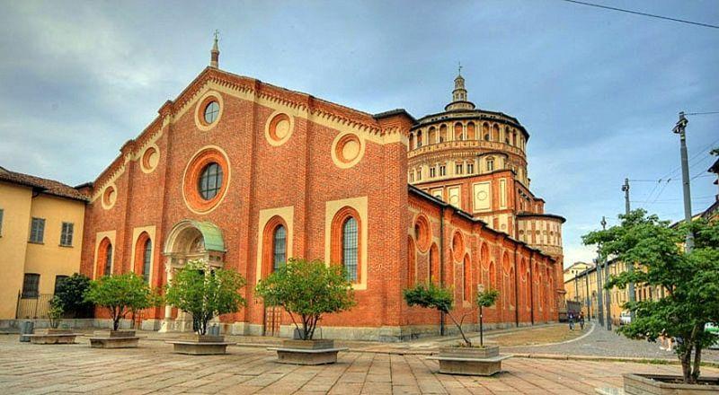 Церковь Санта Мария делле Грацие Милан