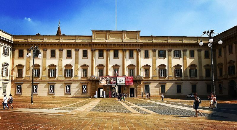 Королевский дворец Милан