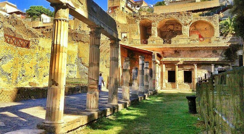 Античный город Геркуланум