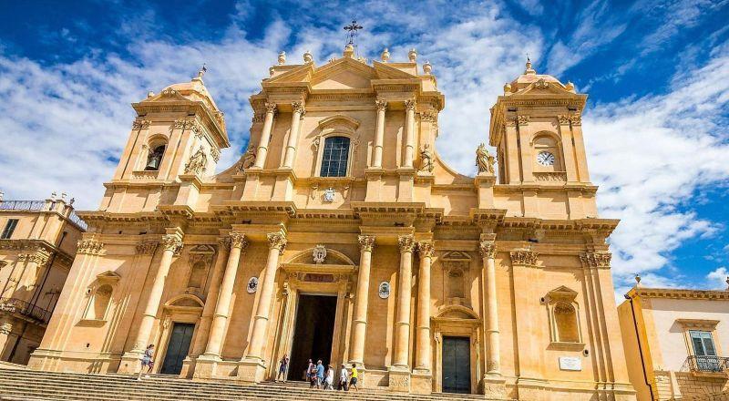 Собор Валь-ди-Ното Сицилия
