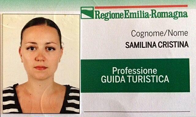 Лицензия национального гида Италии