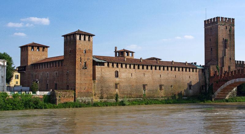 Замок Кастельвеккио Верона