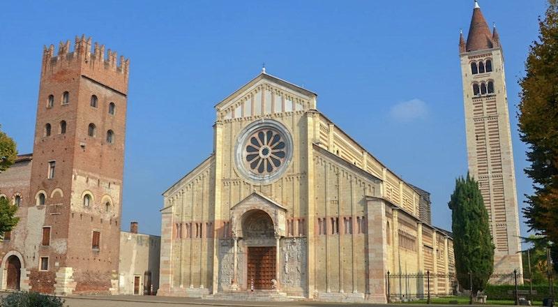 Базилика Сан Дзено Маджоре Верона