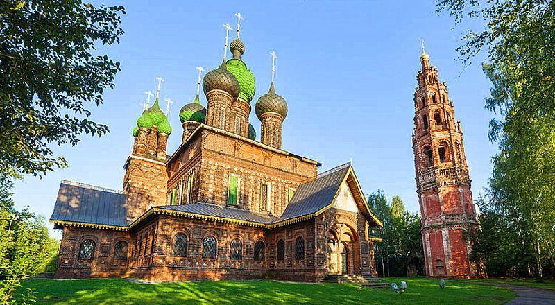Церковь Иоанна Предтечи Толчков