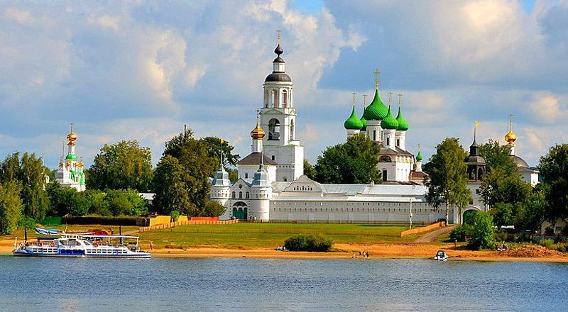 Толгский монастырь Золотое кольцо России