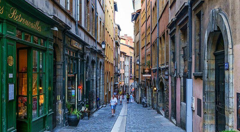 Старый город Лион