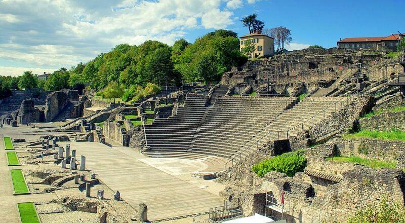 Римский театр в Лионе