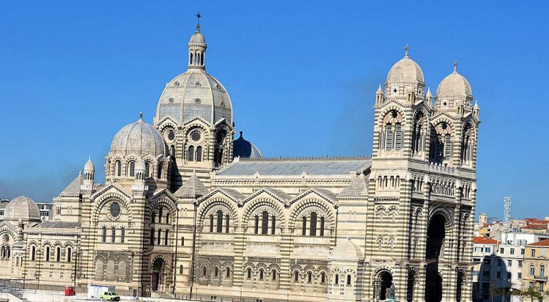 Кафедральный собор Марсель