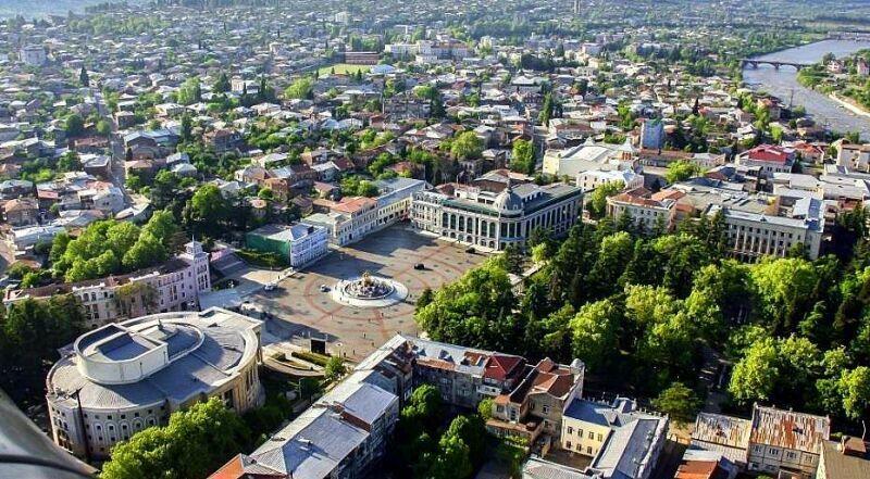 Центральная площадь Кутаиси