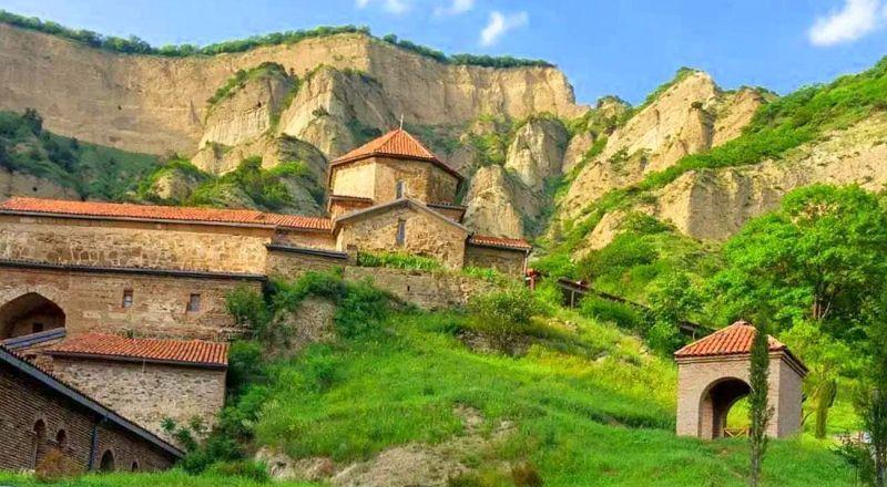 Шио-Мгвимский монастырь Грузия