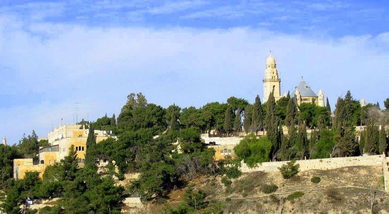 Иерусалим гора Сион