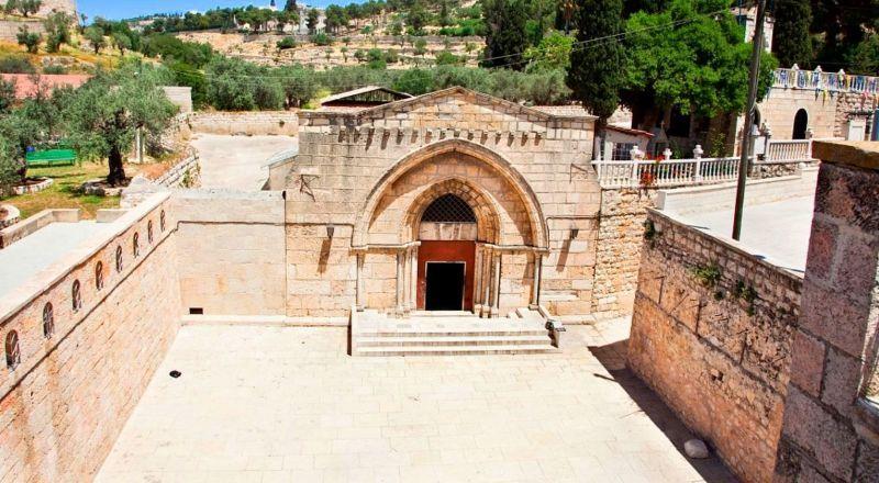 Иерусалим Гробница Богородицы