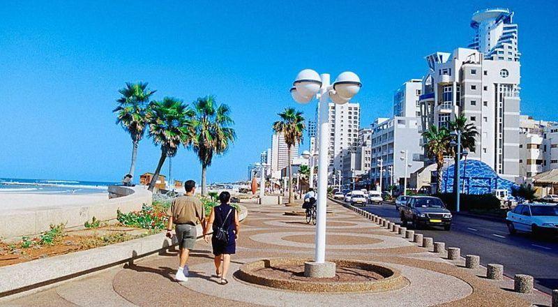 Тель Авив набережная