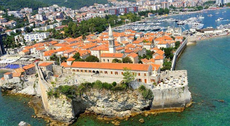 Будва старый город и цитадель