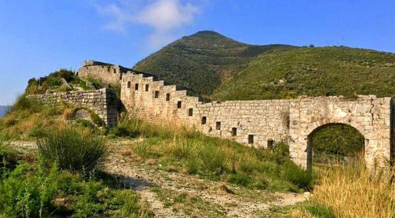 Будва крепость Могрен