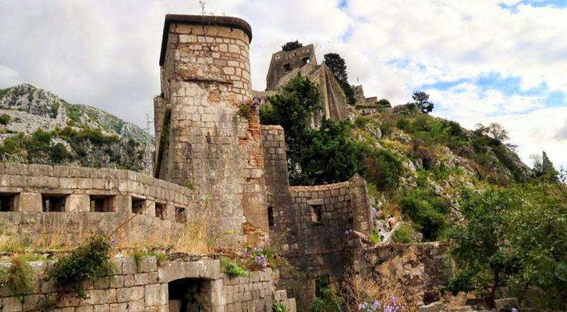 Котор крепость Святого Иоанна
