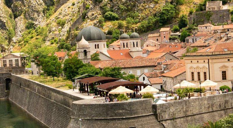 Черногория Котор старый город