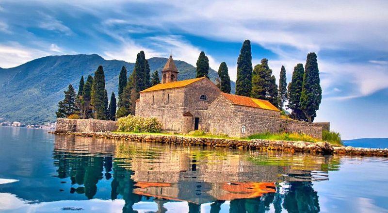 Черногория остров Святого Георгия