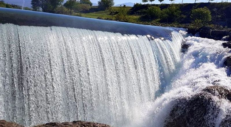 Черногория водопад
