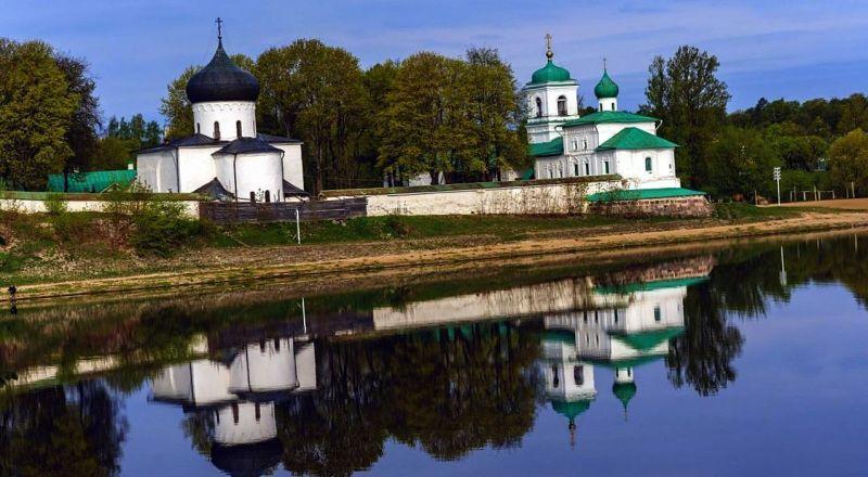 Псков Мирожкий монастырь