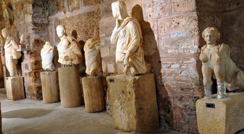 Сиде музей археологии