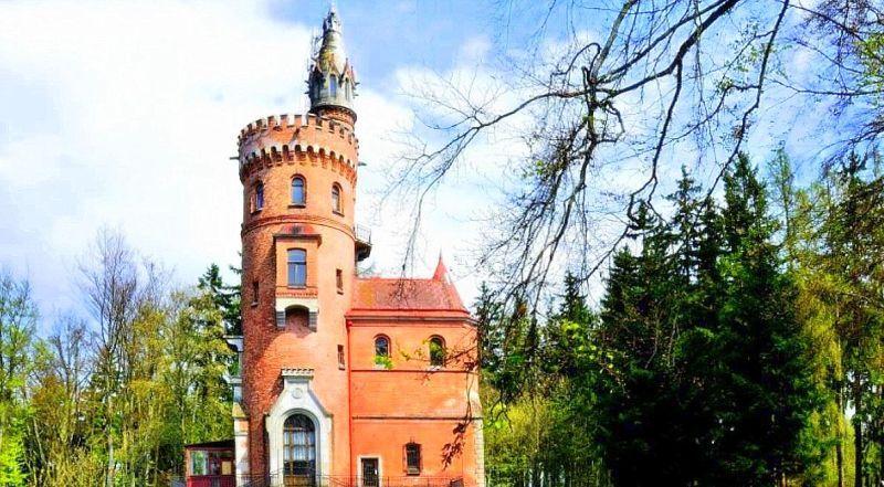 Карловы Вары башня Гёте