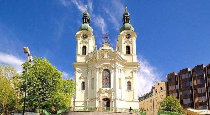 Карловы Вары Церковь Святой Марии Магдалины