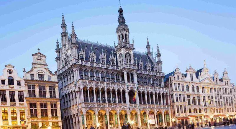 Гранд-палас Брюссель Бельгия
