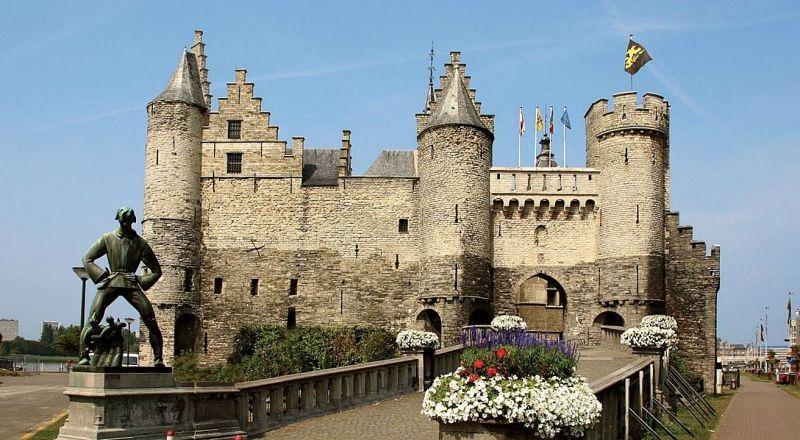 Бельгия замок Стен