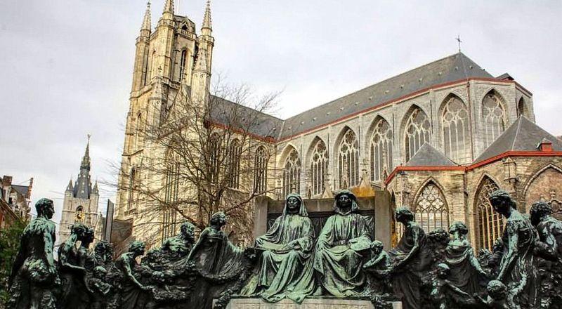 Бельгия Кафедральный собор святого Бавона
