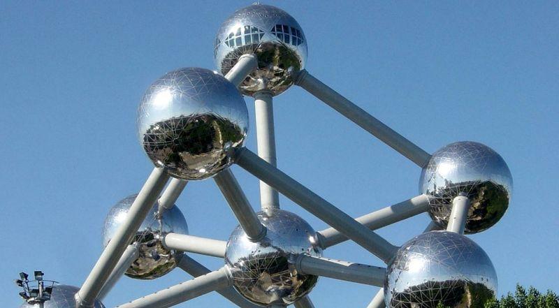 Башня Атомиум Брюссель