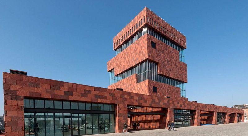 Антверпен музей MAS