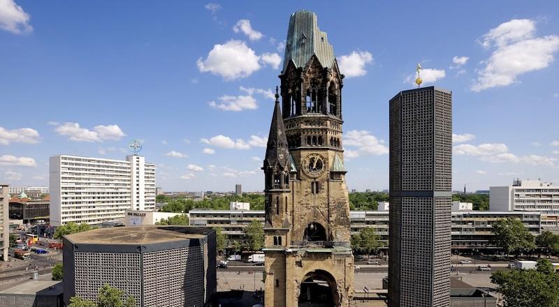 Берлин церковь Кайзера Вильгельма