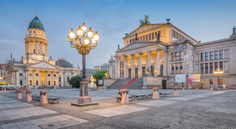 Берлин Площадь Жандармермаркт