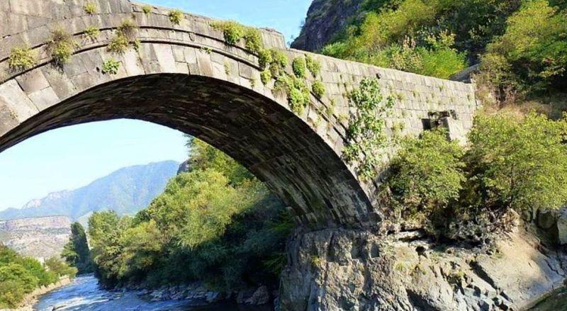Армения Санаинский мост