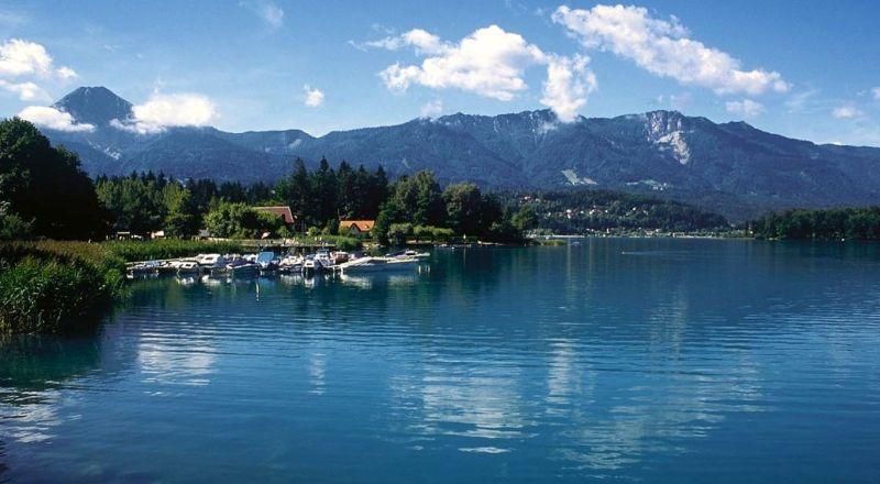 Австрия озеро Факер-Зе