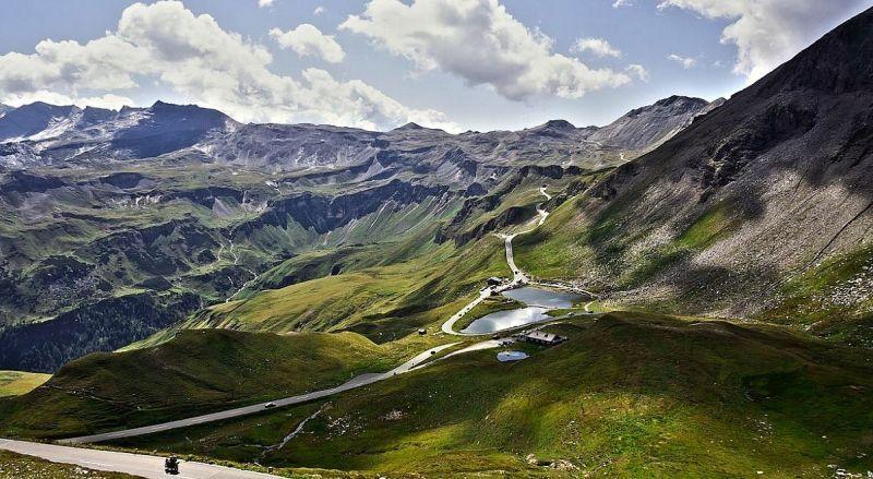 Панорамная дорога Гросглокнер Австрии