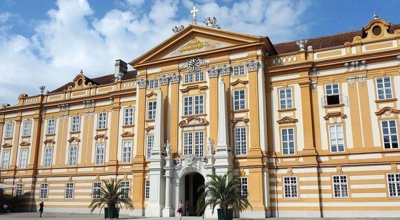 Бенедиктинское аббатство в Мельке