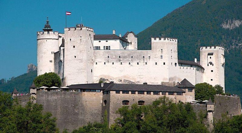 Австрия Замок Хоэнзальцбург