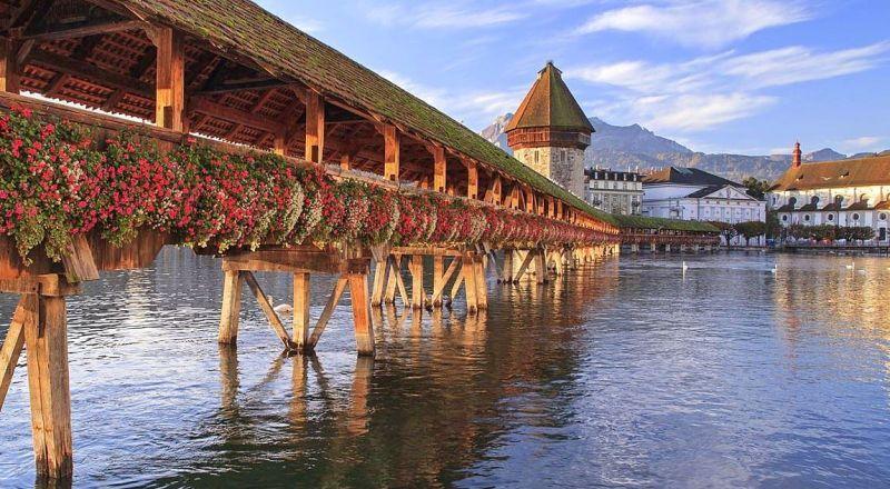Часовенный мост Капелльбрюкке