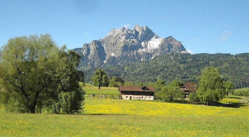 Швейцария гора Пилатус