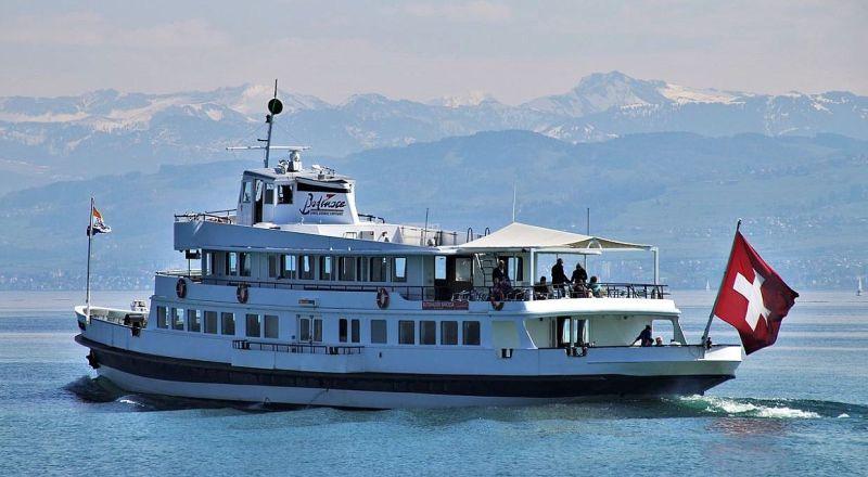 Швейцария Фирвальдштетское озеро