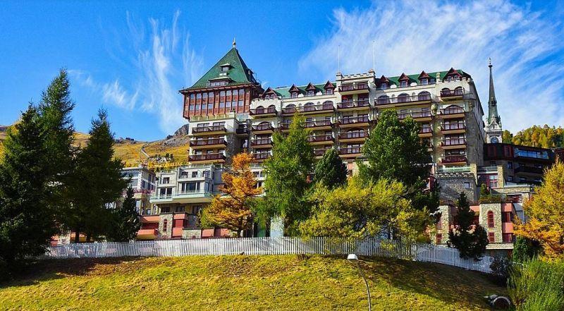 Швейцария курорт Санкт-Мориц