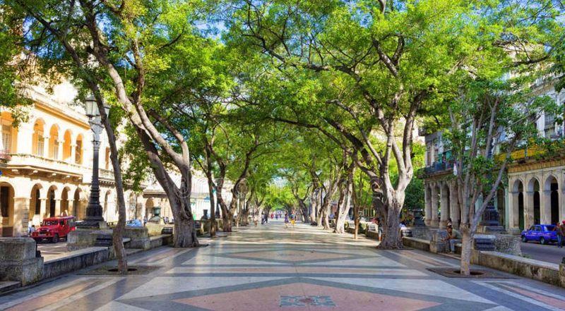 Бульвар Прадо на Кубе