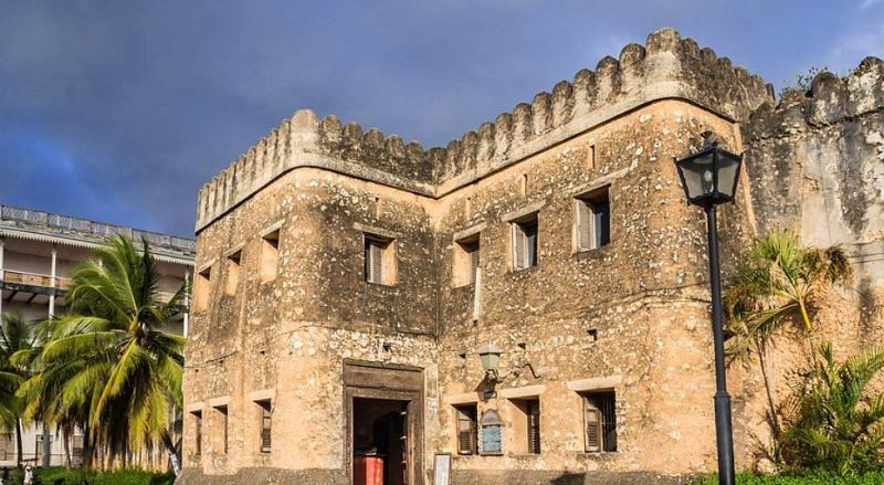 Танзания Арабский форт