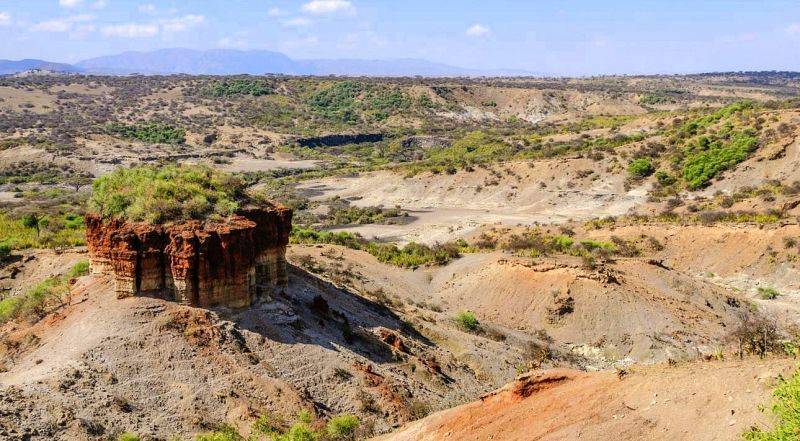 Танзания ущелье Олдувай