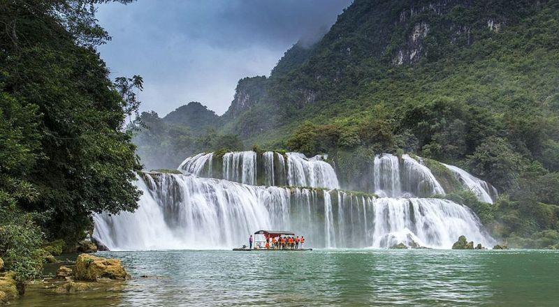 Вьетнам Водопады Дэтянь