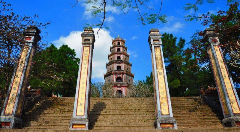 Вьетнам Пагода Тьен Му