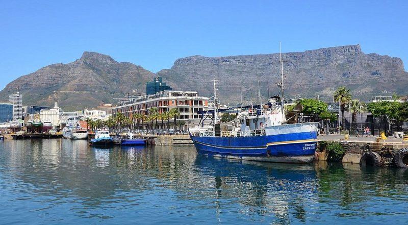 Кейптаун Старый порт Вотерфорт