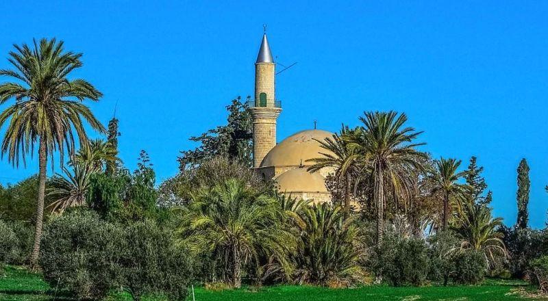 Ларнака Мечеть Хала Султан Текке